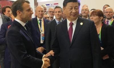 Macron En Chine