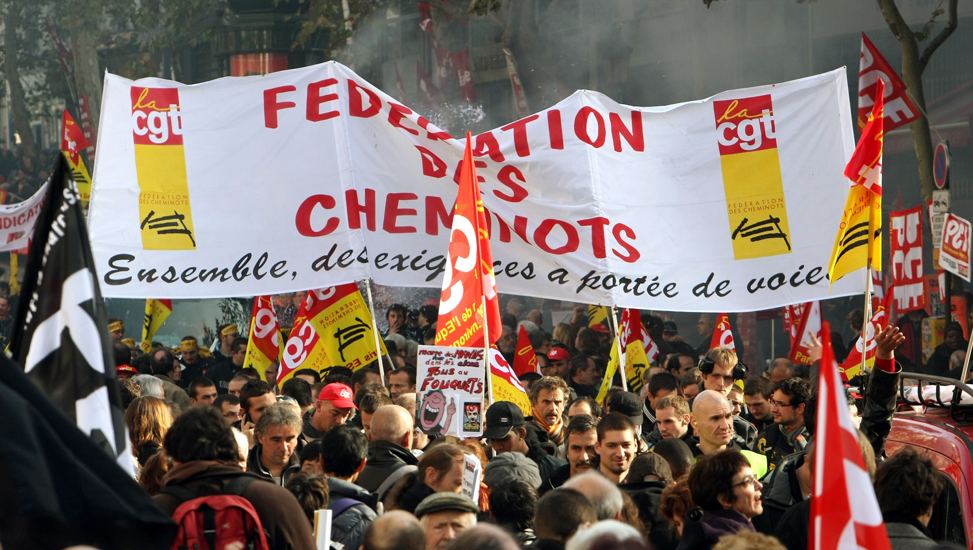 Grève Cheminots