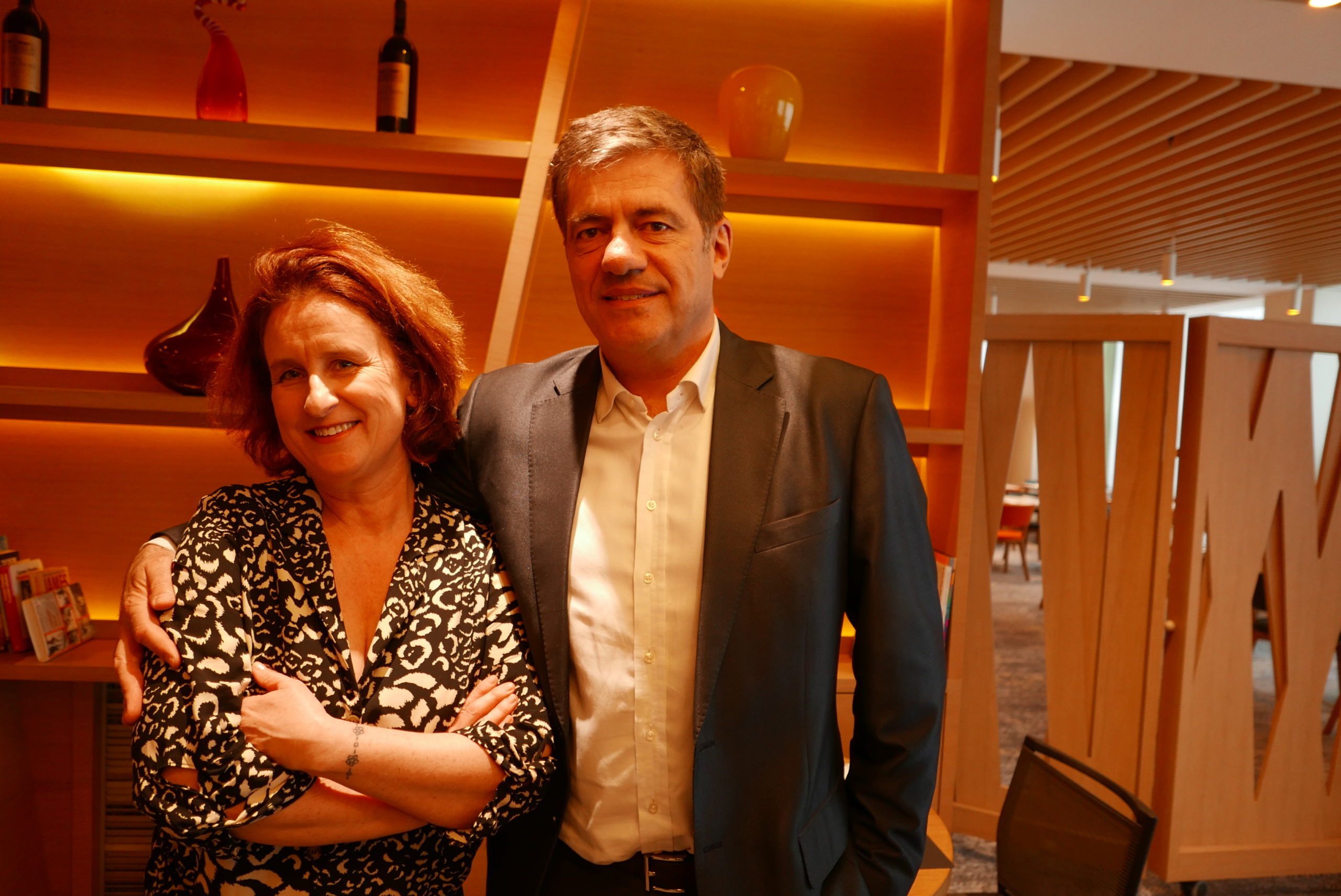 Photo Hélène Ferrer Et Eric Salva