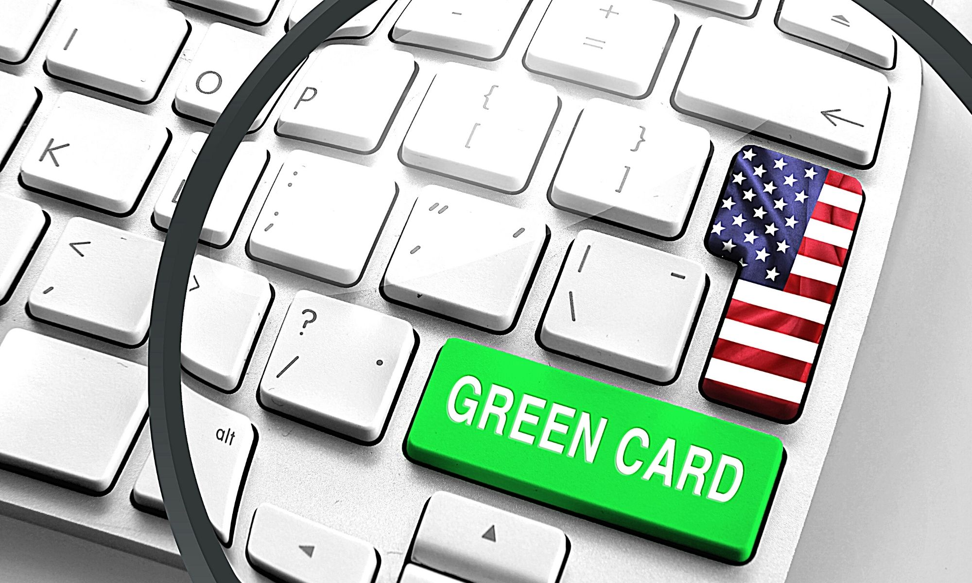 "Inscriptions à la loterie 2022 de la ""Green Card"" américaine"