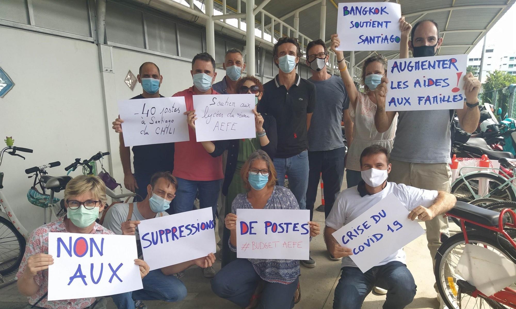 Suppressions de poste : les enseignants de l'AEFE se mobilisent
