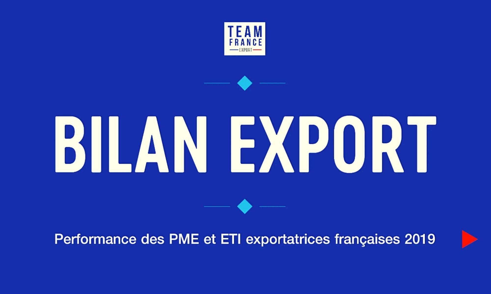 Bilan export 2020