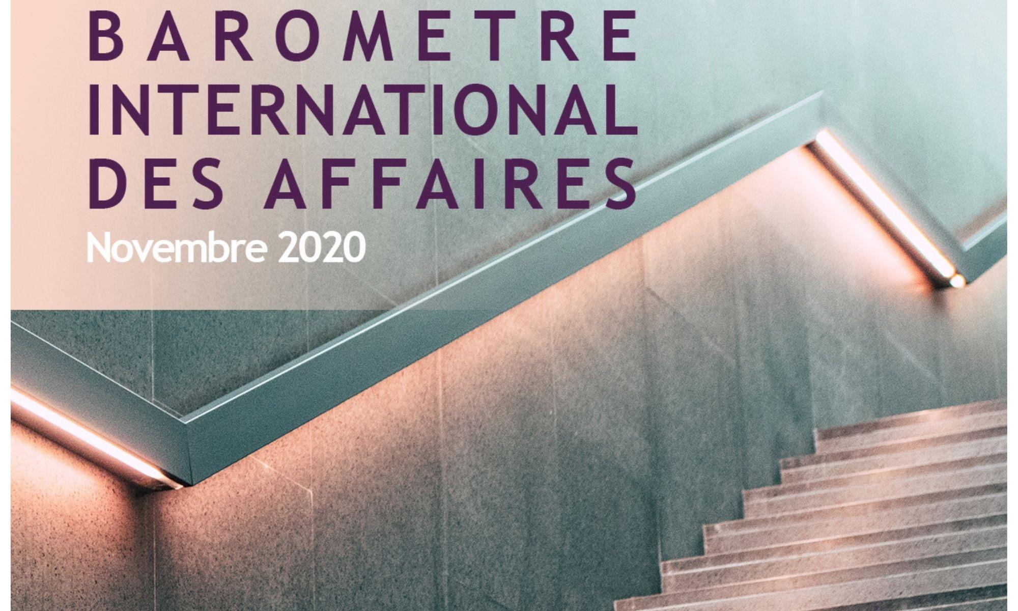 1ère édition du Baromètre InternationaldesAffaires
