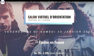 le Salon Virtuel d'Orientation « Étudier en France »