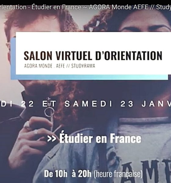 le Salon Virtuel d'Orientation «Étudier en France»