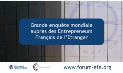 Une grande enquête pour mieux connaître les entrepreneurs français de l'étranger