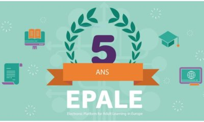 EPALE fête ses 5 ans Erasmus+