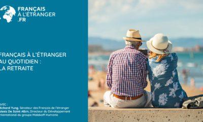 Français à l'étranger au quotidien: les retraites