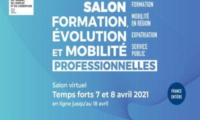 Salon virtuel «Formation, évolution et mobilité professionnelles» dès le 7 avril