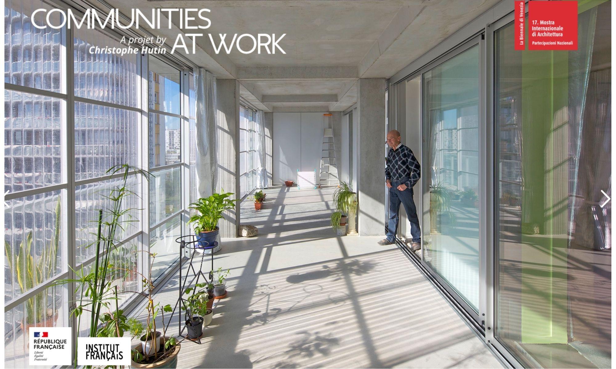 Le projet de Christophe Hutin représentera la France à la Biennale d'architecture de Venise