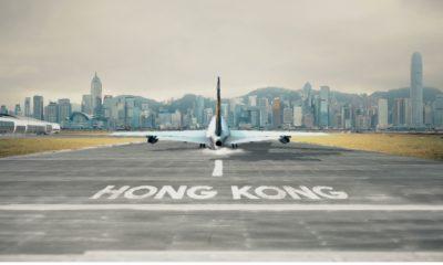 Une bulle aérienne entre Hong Kong et Singapour