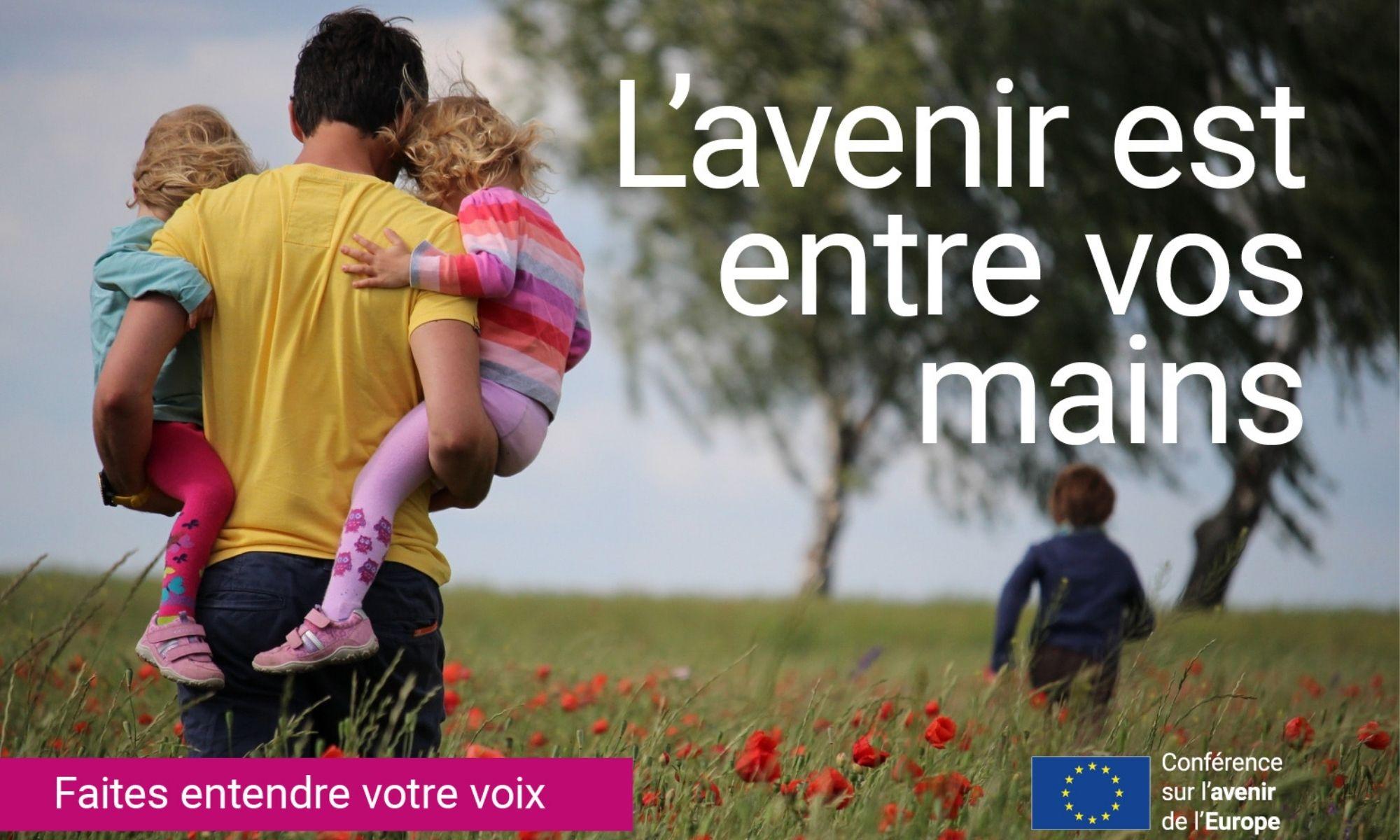 Participer à la Conférence sur l'avenir de l'Europe