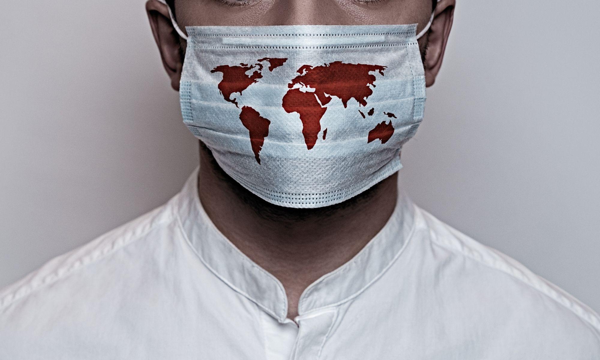foyers épidémiques dans le monde, clusters
