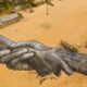 La fresque éphémère et planétaire de l'artiste français Saype