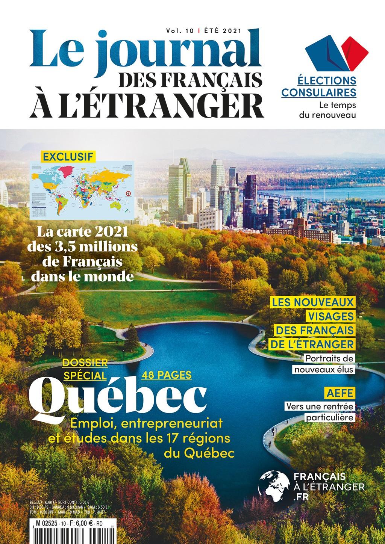 Le n° 10 du Journal des Français à l'étranger