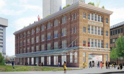 """En 2024, un """"Centre Pompidou"""" ouvrira à Jersey City"""