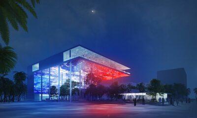 Visite du pavillon français à l'Exposition universelle de Dubaï