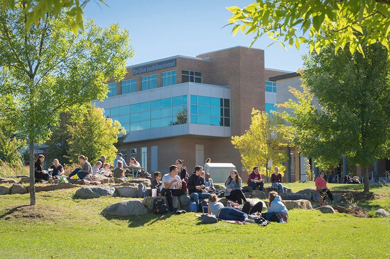 Campus principal de l'Université de Sherbrooke