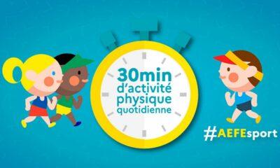 """L'AEFE soutient le dispositif """"30 minutes d'activité physique quotidienne"""""""