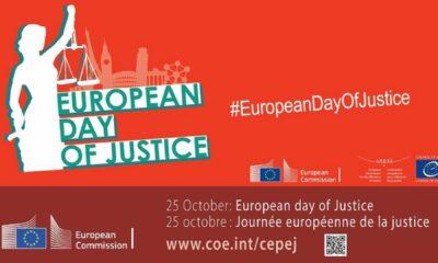 """25 octobre : """"La Journée européenne de la justice"""""""