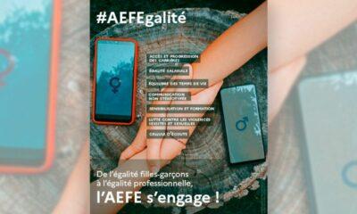AEFE : Concours de l'affiche #AEFEgalité 2022