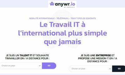 """Vivre ailleurs, sur RFI : """"ANYWR.IO"""" pour le recrutement de talents internationaux IT"""